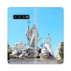 ザ・ローマ Samsung Galaxy S10 合皮 手帳型ケース