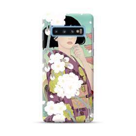 ザ・桜&ジャパンガール! Samsung Galaxy S10 Plus ポリカーボネート ハードケース