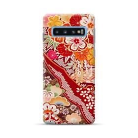 和・花柄 Samsung Galaxy S10 Plus ポリカーボネート ハードケース