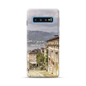ザ・イタリア風景 Samsung Galaxy S10 Plus ポリカーボネート ハードケース