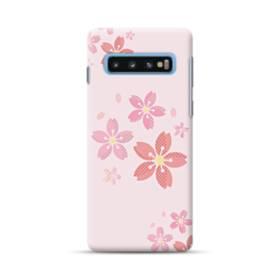 春・桜の花001 Samsung Galaxy S10 Plus ポリカーボネート ハードケース