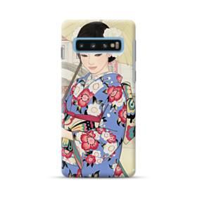 こんにちは、ジャパンガール! Samsung Galaxy S10 Plus ポリカーボネート ハードケース