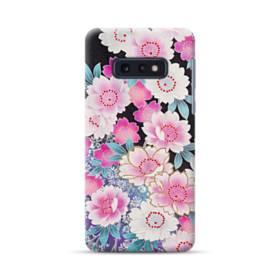 和の花柄 Samsung Galaxy S10e ポリカーボネート ハードケース