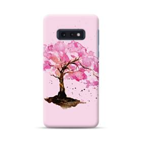 水彩画・桜の木 Samsung Galaxy S10e ポリカーボネート ハードケース