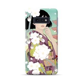 ザ・桜&ジャパンガール! Samsung Galaxy S10e ポリカーボネート ハードケース