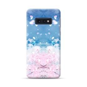 桜の花びら Samsung Galaxy S10e ポリカーボネート ハードケース
