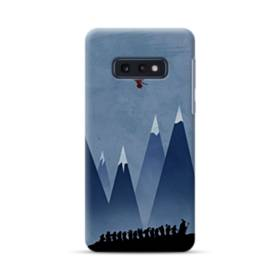 映画アート:ホビット(山&ドラゴン) Samsung Galaxy S10e ポリカーボネート ハードケース