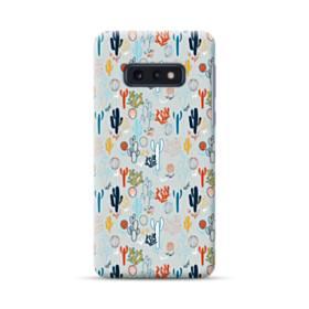 メキシコサボテンいっぱい Samsung Galaxy S10e ポリカーボネート ハードケース