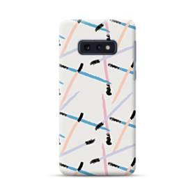まつ毛ブラシのアート Samsung Galaxy S10e ポリカーボネート ハードケース