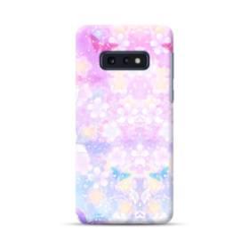 爛漫・抽象的な桜の花 Samsung Galaxy S10e ポリカーボネート ハードケース