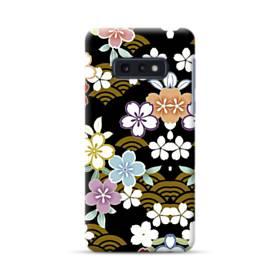 和風・桜&浪 Samsung Galaxy S10e ポリカーボネート ハードケース