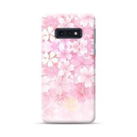 爛漫・ピンク&桜色 Samsung Galaxy S10e ポリカーボネート ハードケース