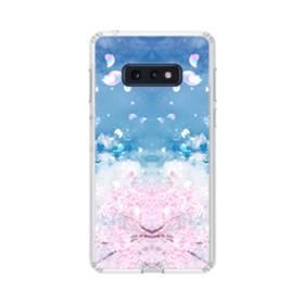 桜の花びら Samsung Galaxy S10e TPU クリアケース