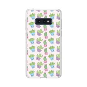 サボテンのモチーフ Samsung Galaxy S10e TPU クリアケース