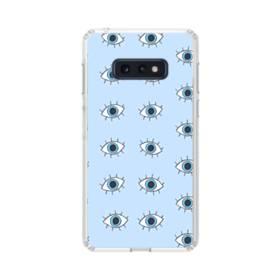 可愛い・目のモチーフ Samsung Galaxy S10e TPU クリアケース