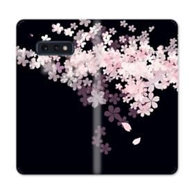 爛漫・桜 Samsung Galaxy S10e 合皮 手帳型ケース