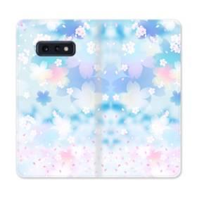 爛漫桜の花 Samsung Galaxy S10e 合皮 手帳型ケース