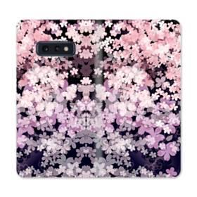 爛漫・夜桜 Samsung Galaxy S10e 合皮 手帳型ケース