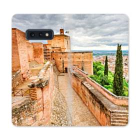ザ・宮殿01 Samsung Galaxy S10e 合皮 手帳型ケース