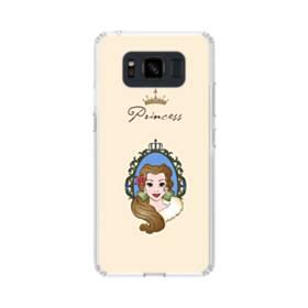 ディズニー プリンセス ベル Samsung Galaxy S8 Active TPU クリアケース
