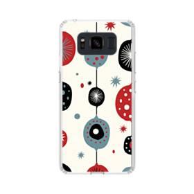 クリスマス アートなデコレーション Samsung Galaxy S8 Active TPU クリアケース