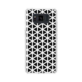 アートな白黒系モチーフ② Samsung Galaxy S8 Active TPU クリアケース