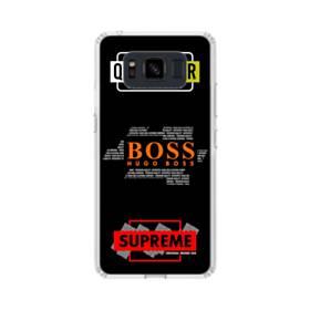 デザイン・マーク008 Samsung Galaxy S8 Active TPU クリアケース
