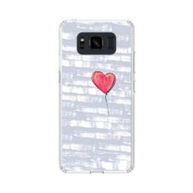 ハートバルーン Samsung Galaxy S8 Active TPU クリアケース