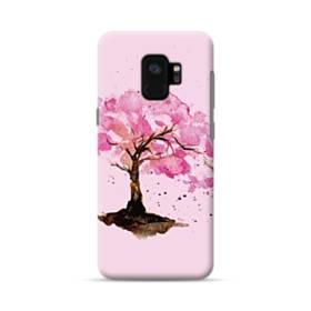水彩画・桜の木 Samsung Galaxy S9 ポリカーボネート ハードケース