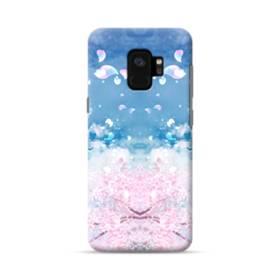 桜の花びら Samsung Galaxy S9 ポリカーボネート ハードケース