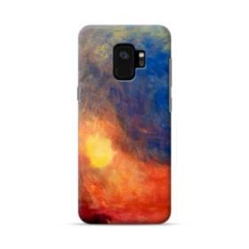 モネのマネ・色のアート創作 Samsung Galaxy S9 ポリカーボネート ハードケース