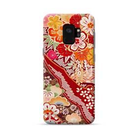 和・花柄 Samsung Galaxy S9 ポリカーボネート ハードケース