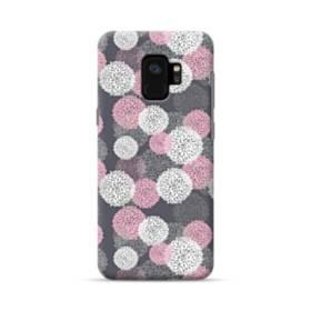 デザイン 花のモチーフ Samsung Galaxy S9 ポリカーボネート ハードケース