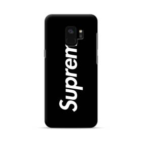 ニューヨークよりブラック・スーパー・ミ(super me) Samsung Galaxy S9 ポリカーボネート ハードケース
