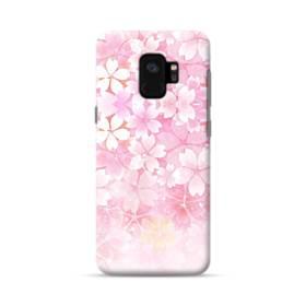 爛漫・ピンク&桜色 Samsung Galaxy S9 ポリカーボネート ハードケース