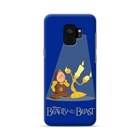 ディズニー・美女と野獣・可愛いキャラクター Samsung Galaxy S9 ポリカーボネート ハードケース