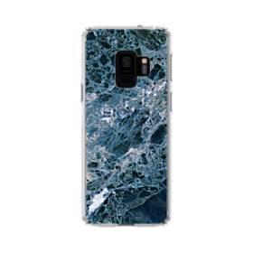 マーブル(大理石)模様 Samsung Galaxy S9 TPU クリアケース