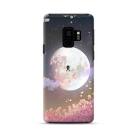 爛漫・夜桜&私たち Samsung Galaxy S9 ポリカーボネート タフケース