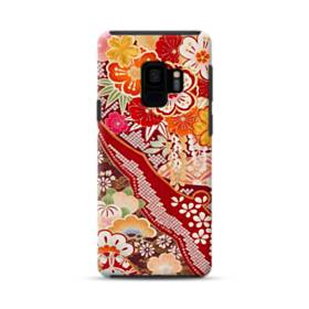 和・花柄 Samsung Galaxy S9 ポリカーボネート タフケース