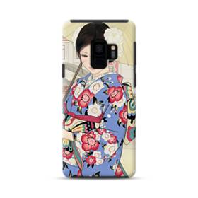 こんにちは、ジャパンガール! Samsung Galaxy S9 ポリカーボネート タフケース