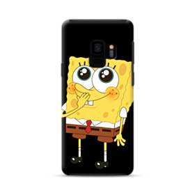 可愛いスポンジボブ Samsung Galaxy S9 ポリカーボネート タフケース