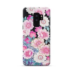 和の花柄 Samsung Galaxy S9 Plus ポリカーボネート ハードケース