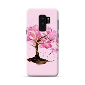 水彩画・桜の木 Samsung Galaxy S9 Plus ポリカーボネート ハードケース