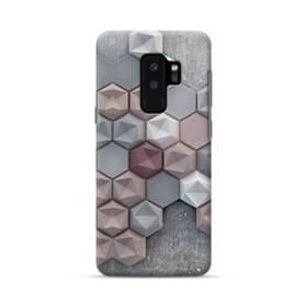 つぶつぶ六角形 Samsung Galaxy S9 Plus ポリカーボネート ハードケース