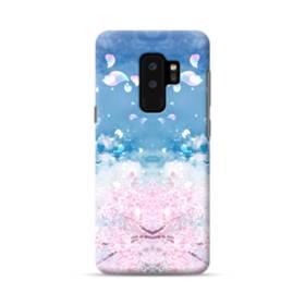 桜の花びら Samsung Galaxy S9 Plus ポリカーボネート ハードケース