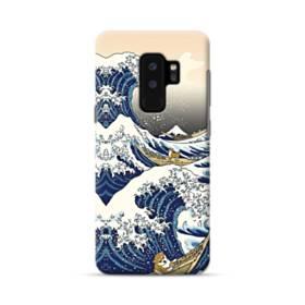 和柄:柴犬in浮世絵 Samsung Galaxy S9 Plus ポリカーボネート ハードケース
