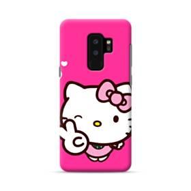 永遠に可愛い!キティちゃん Samsung Galaxy S9 Plus ポリカーボネート ハードケース