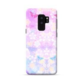 爛漫・抽象的な桜の花 Samsung Galaxy S9 Plus ポリカーボネート ハードケース