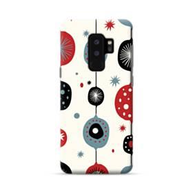 クリスマス アートなデコレーション Samsung Galaxy S9 Plus ポリカーボネート ハードケース