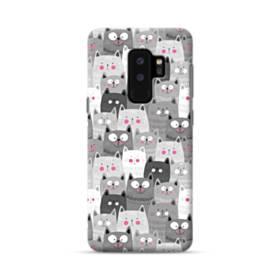 多くの子猫 Samsung Galaxy S9 Plus ポリカーボネート ハードケース
